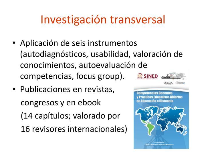 Investigación transversal