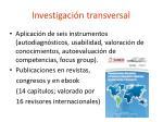 investigaci n transversal