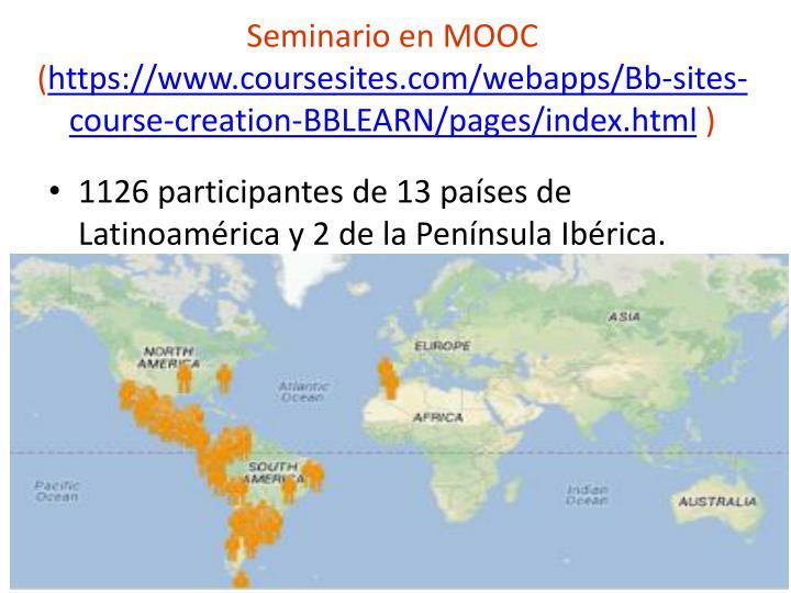 Seminario en MOOC (