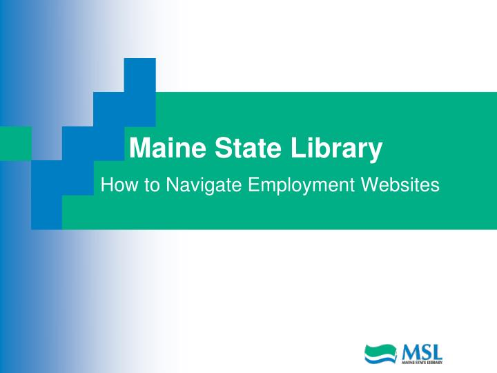 maine state library
