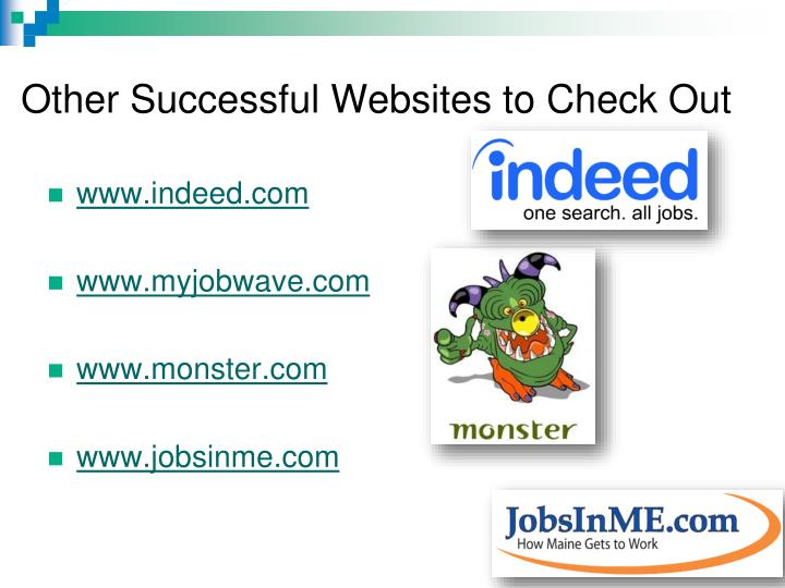Other Successful Websites to Check Out