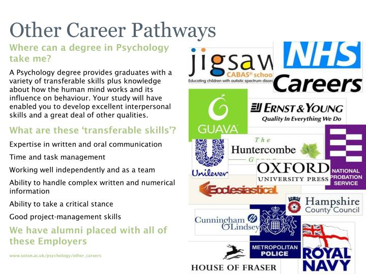 Other Career Pathways