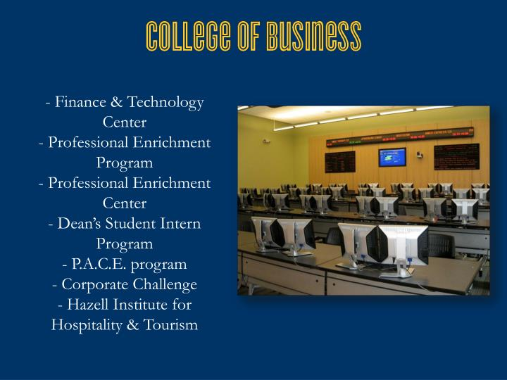Finance & Technology Center