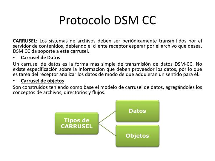 Protocolo DSM CC