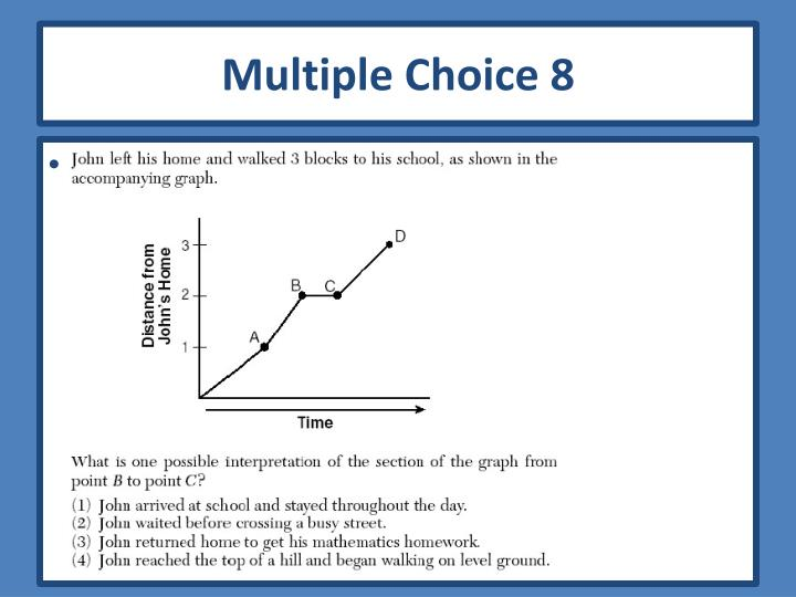 Multiple Choice 8