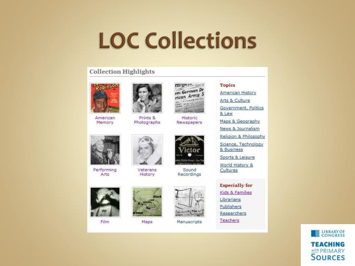 LOC Collections