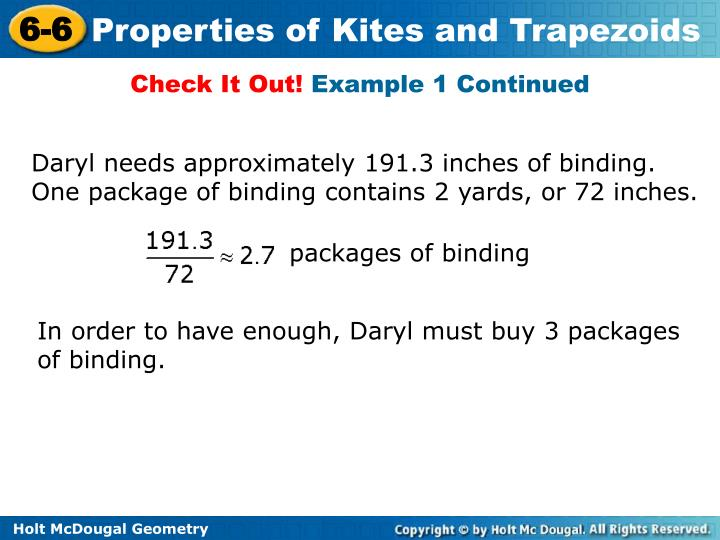 packages of binding