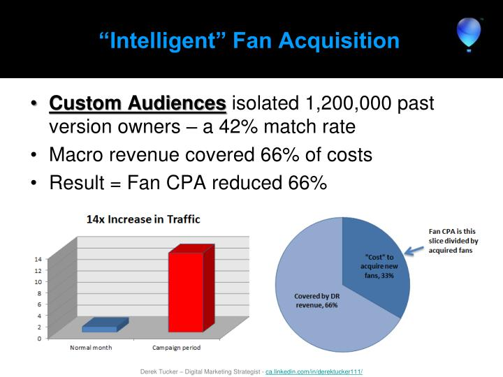 """Intelligent"" Fan Acquisition"