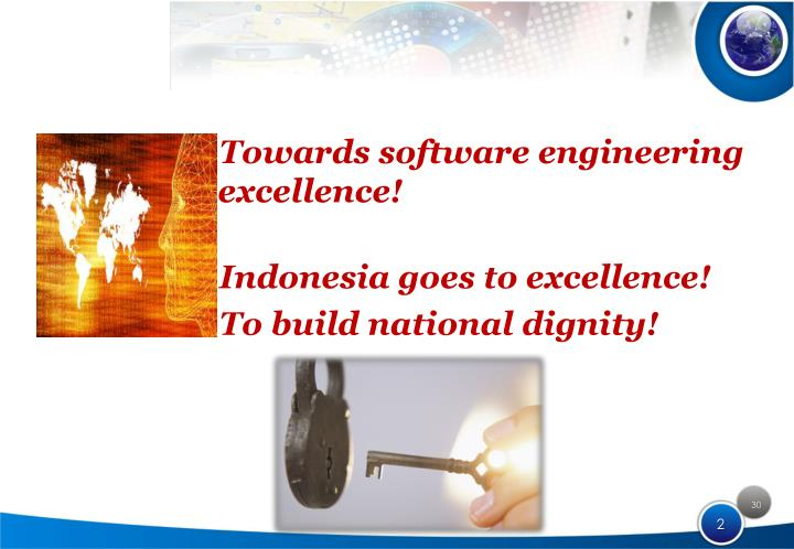 Towards software engineering excellence!
