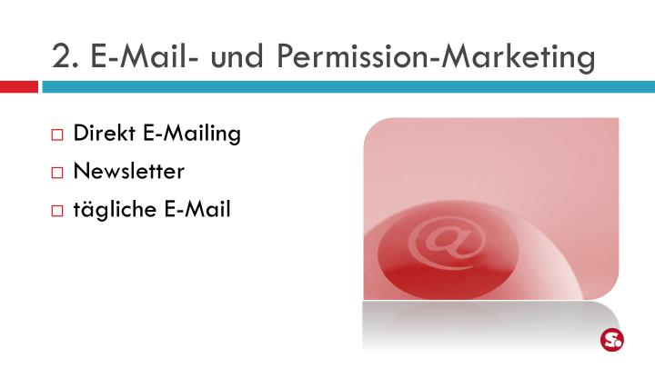 2. E-Mail- und Permission-Marketing