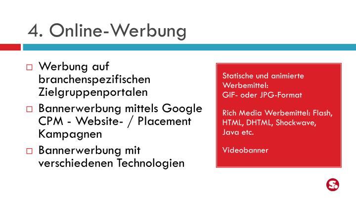 4. Online-Werbung