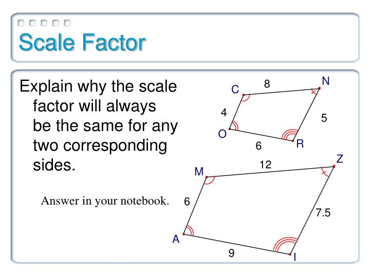 Scale Factor