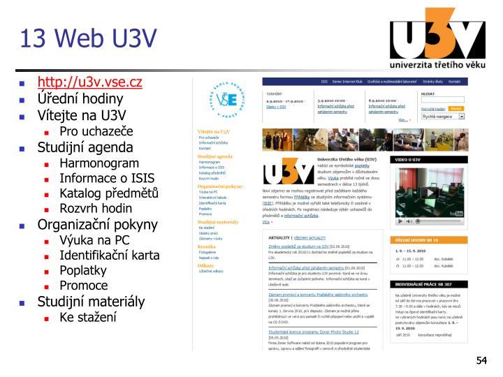 13 Web U3V