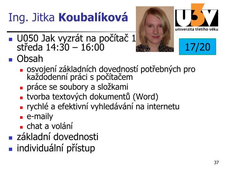 Ing. Jitka