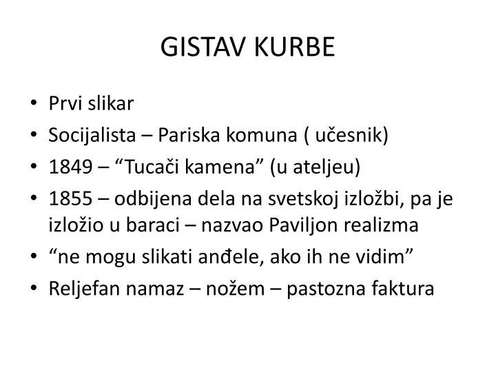 GISTAV KURBE