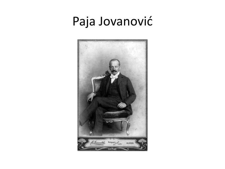 Paja Jovanović