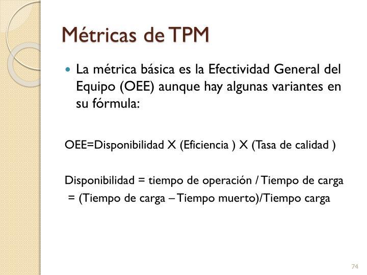 Métricas de TPM