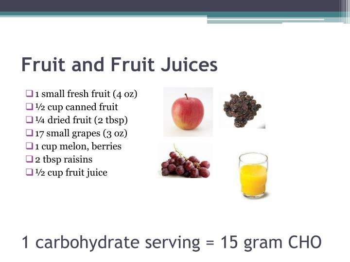 Fruit and Fruit Juices