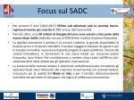 focus sul sadc1