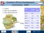 southern african development community sadc