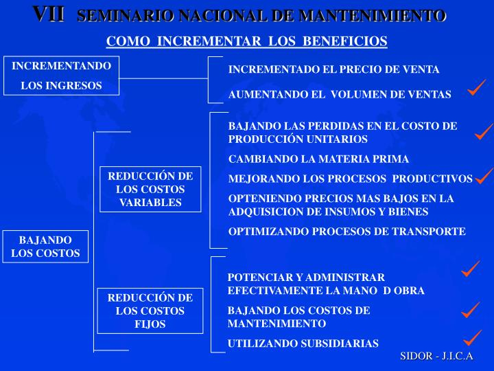 COMO  INCREMENTAR  LOS  BENEFICIOS