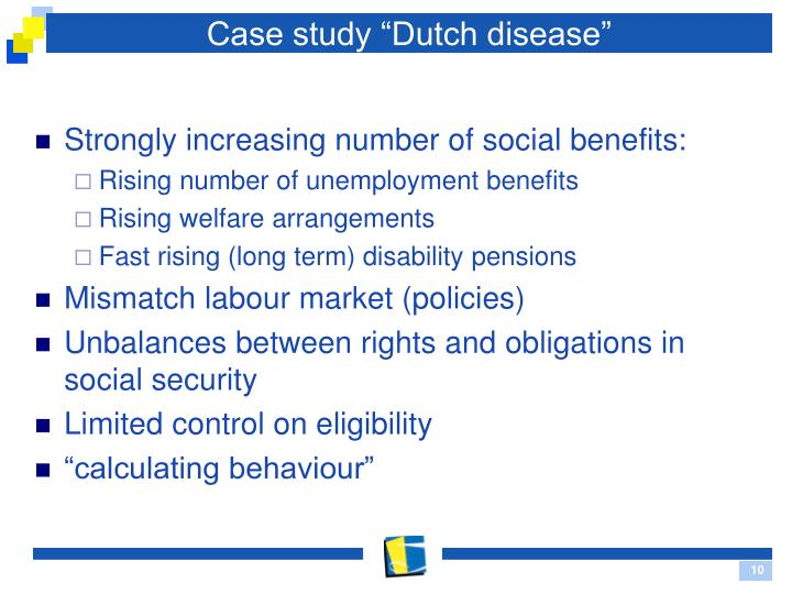 "Case study ""Dutch disease"""