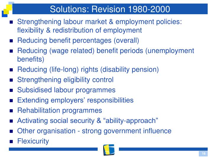 Solutions: Revision 1980-2000