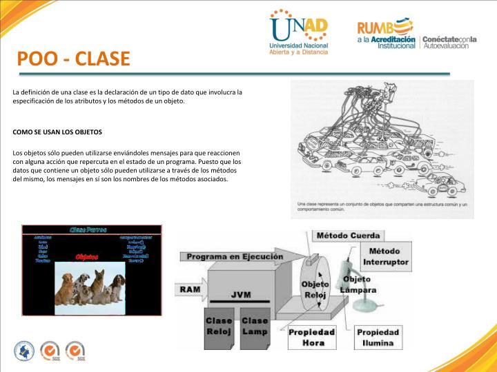 POO - CLASE