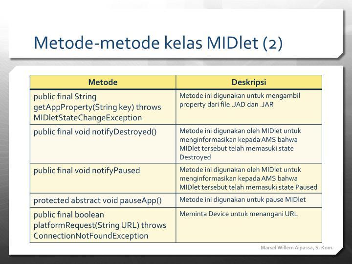 Metode-metode