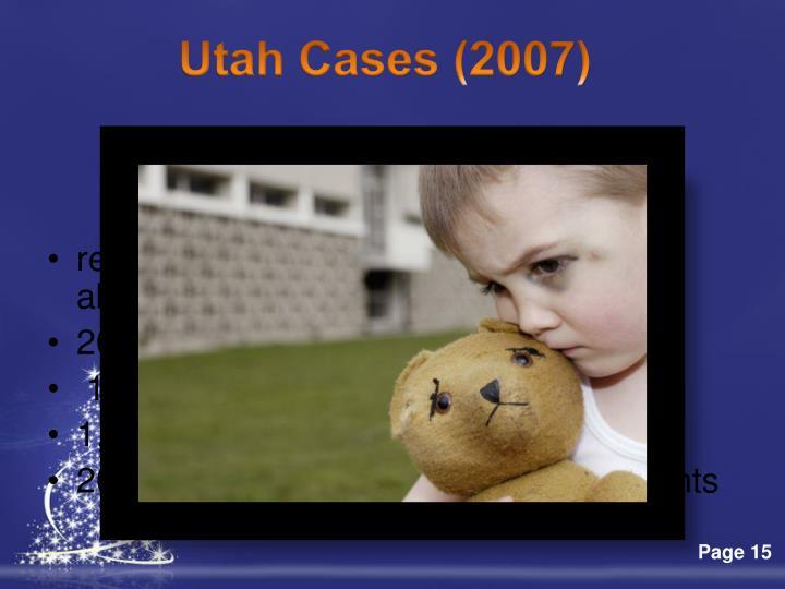 Utah Cases (2007)