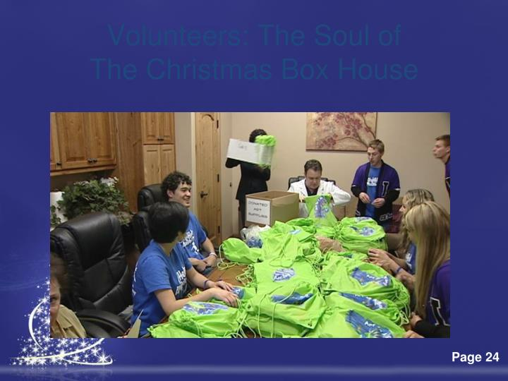 Volunteers: The Soul