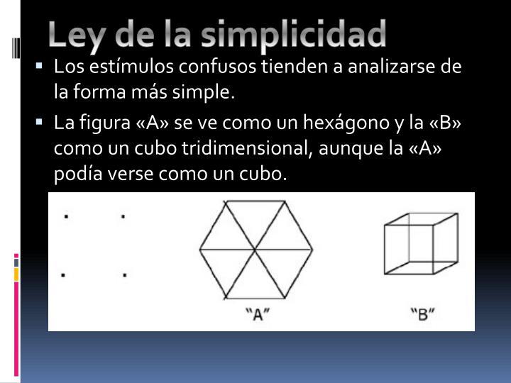 Ley de la simplicidad