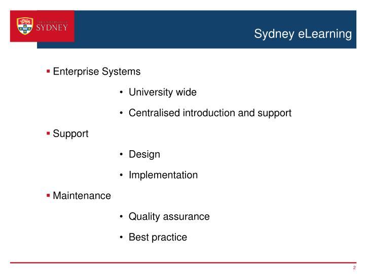 Sydney eLearning