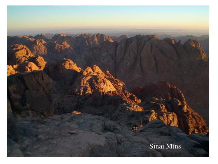 Sinai Mtns