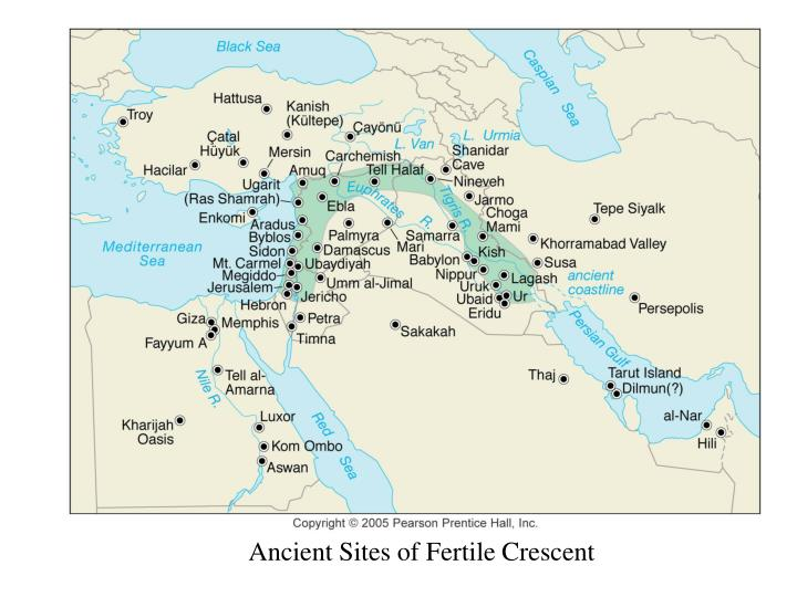 Ancient Sites of Fertile Crescent