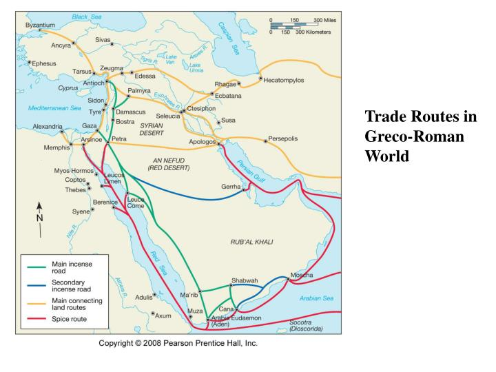 Trade Routes in Greco-Roman World