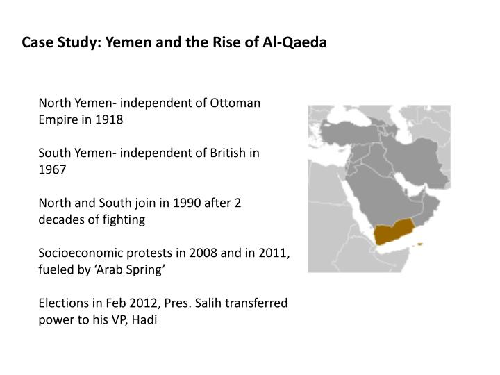 Case Study: Yemen and the Rise of Al-Qaeda