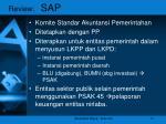 review sap