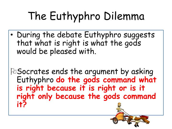 an analysis of socratic method in platos euthyphro Plato's dialogues form the basis of socratic ethics and moral psychology  piety is discussed in the euthyphro,  discourse analysis documentary linguistics.