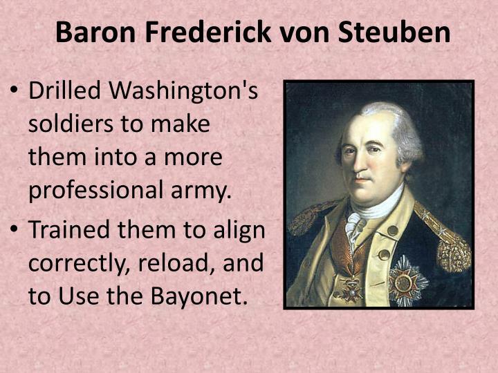 Baron Frederick von Steuben