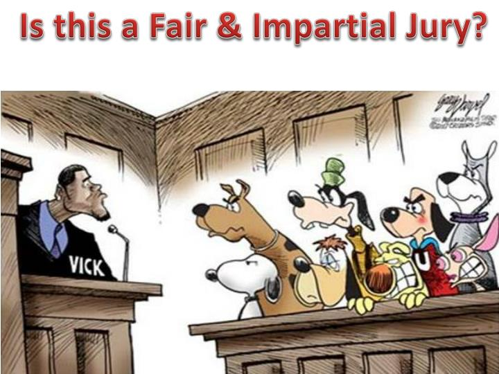 Is this a Fair & Impartial Jury?