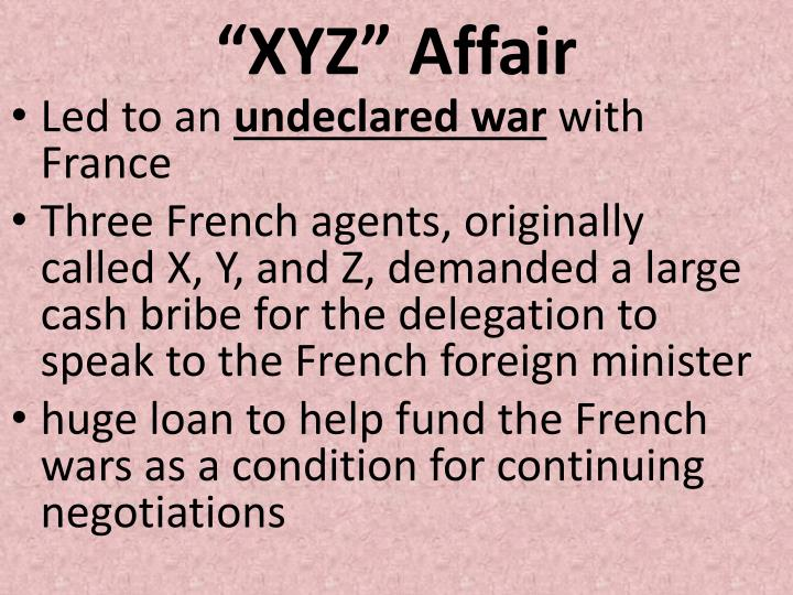 """XYZ"" Affair"