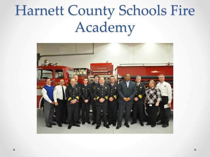 Harnett County Schools Fire Academy