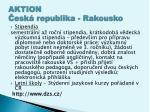 aktion esk republika rakousko
