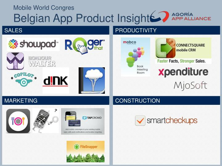 Mobile world congres belgian app product insights1