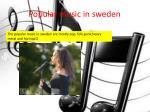 popular music in sweden