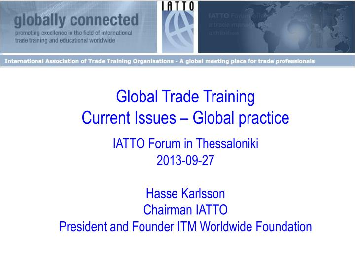 Global Trade Training