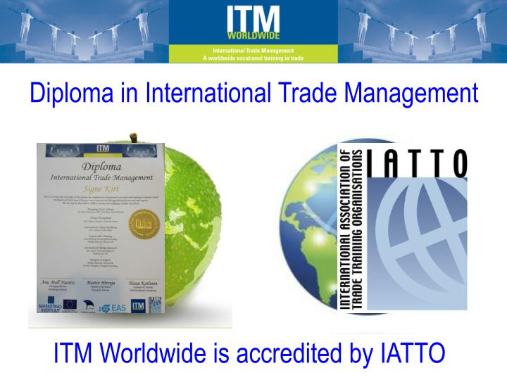 Diploma in International Trade Management