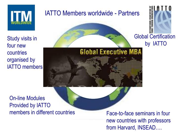 IATTO Members worldwide - Partners