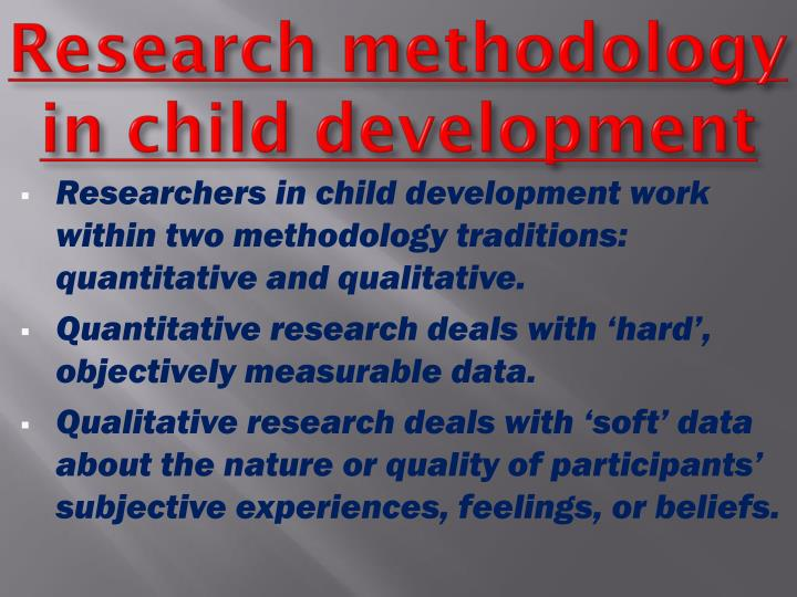 child development research